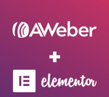 Big News! AWeber Now Supports the Elementor WordPress Plugin.