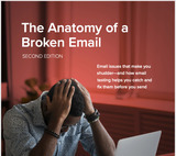 The Anatomy of a Broken Email: errors that make marketers shudder and how to fix them