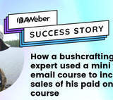 How a bushcraft expert used a mini email course to increase sales of his paid online course