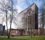 Topping Out Celebrated for Dual-Branded Crowne Plaza and Staybridge Suites at University of Manchester's £1Billion Campus Redevelopment