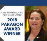 HFTP Announces 2018 Paragon Award Recipient - Anna McFarland, CPA, CFE, CHAE, CHTP