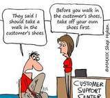 Walking In Your Customer's Shoes